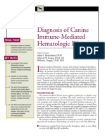 CANINE-Diagnosis of Canine İmmune-mediated hematologic Disease