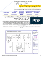 Steam Power Plants - PLC Automation & Control System - Lahore, Pakistan