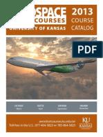 Kansas University Short Courses 2013