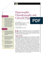 CANINE-Hypertrophic Osteodystrophy and Calvarial Hyperostosis