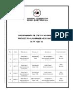 SK PR HSEC 10 Proc. Corte y Soldadura Rev. 03