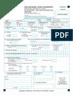 Openmat Entrance Test Form Xxxvi & Xxxvii