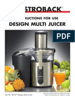 40127 DesignMultiJuicer Manual Englisch View
