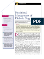 CANINE-Nutritional Management of Diabetic Dogs