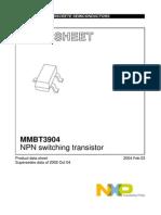 MMBT3904 Transistor Audio