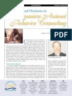 Companion Animal Behavior Counseling