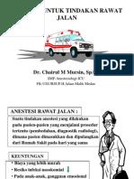 Anestesi Rawat Jalan Fk Uisu