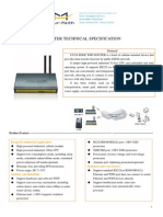f3324 Edge Wifi Router Specification