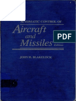 Automatic Control of Aircraft & Missile - Blake Lock