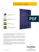 SolarWord Poly 250-255 Es