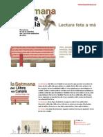 Dossier Setmana del Llibre en Català