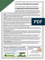 Newsletter T3 W6