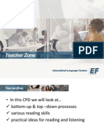 CPD Reading and Listening