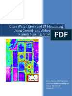 Grass Water Stress