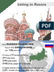 2009 november  Negotiating in Russia-presentation