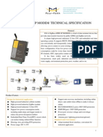 F8114 ZigBee+GPRS IP MODEM TECHNICAL SPECIFICATION