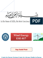 Wind Energy Lecture 01