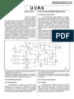 MeccAlte UVR6 Manual