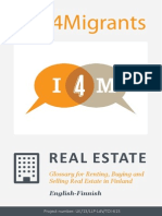 Real Estate Glossary ENGLISH TO FINNISH