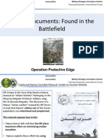 Hamas Documents - Found in the Battlefield