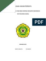 Dilematis Nama Cina Bagi Warga Negara Indonesia -Winny Sanjaya-2013200054