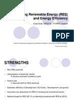 Promoting Renewable Energy (RES)