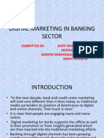 Digital Marketing in Banking Sector