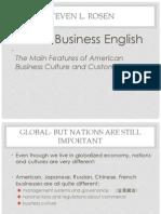U.S. Global Business