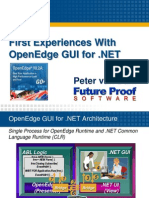 First Experiences With OpenEdge GUI for.net Finland