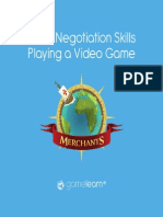 Negotiation Skills Game Based Learning