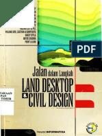 Jalan Dalam Langkah Land Desktop Dan Civil Design.o