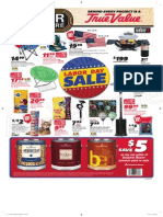 Labor Day Sales Flyer