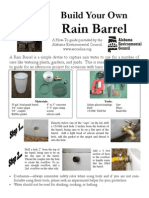 Rain Barrel Flyer