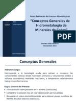 1Conceptos Generales Hidrometalurgia