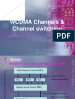WCDMA Channels & Channel Switching