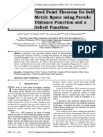 A Common Fixed Point Theorem for Self Maps on a Metric Space using Pseudo Altering Distance Function and a Deficit Function