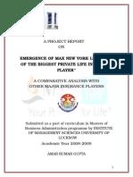 Accedintal Max Life Insurance