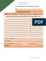 Ficha Avaliativa ATPS Imunologia Básica FARMÁCIA