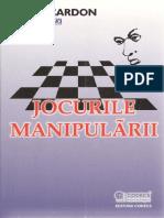 Alain Cardon - Jocurile Manipularii