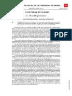 Orden Convocatoria 1046-2014 Bocm