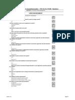 Risk Assessment Questionnaire - PO IG 8.2 B2B System