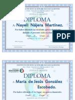 Diplomas 3er Ciclo