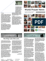 World Prayer News - September/October 2014