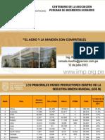 El Agro y La Minería Son Compatibles 12 Julio 2012