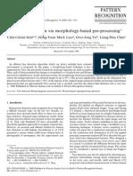 Morphological Pro Morphological Processingcessing