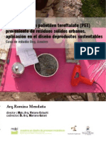 Exploración con polietilen tereftalato (PET) proveniente de residuos sólidos urbanos, aplicado el diseño de productos sustentables. Caso de estudio ONG Amulen