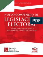 Nuevo Compendio de Legislación Electoral 2014