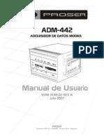 Manual ADM 442