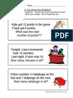 Word Problem Worksheet 5