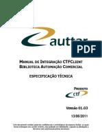 Manual de Integração CTFClient Biblioteca de Automação Comercial v1.03